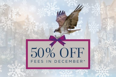 Osprey 50percent off fees December 2017