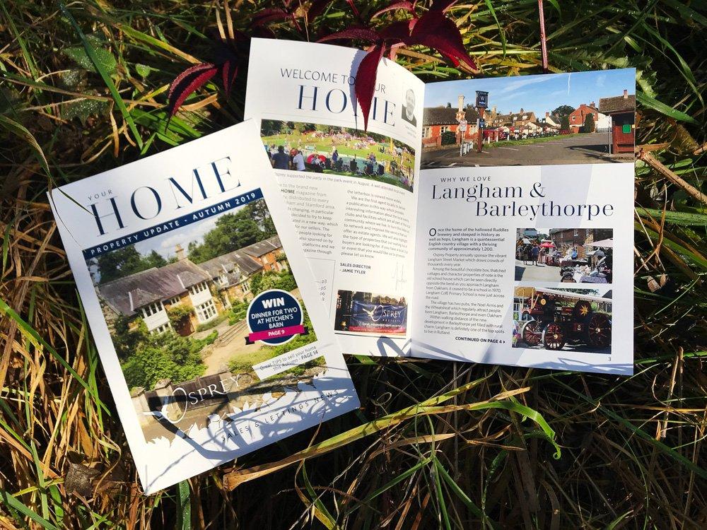 Osprey Property Home Magazine Page